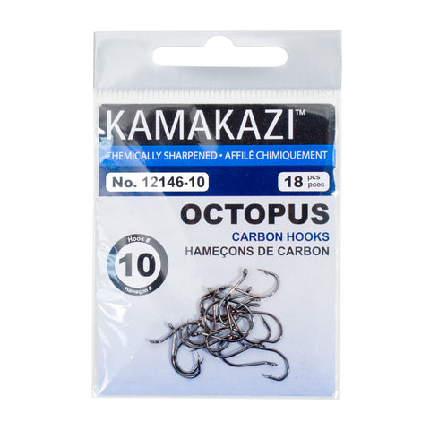 BLACK OCTOPUS CARBON HOOKS