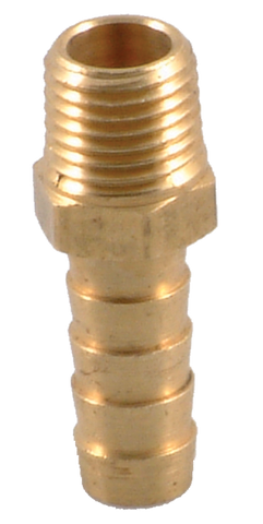 "1/4"" P.T. STRAIT TO 3/8"" HOSE BRASS"