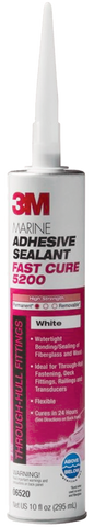 3M 5200 WHITE FAST CURE MARINE SEALANT