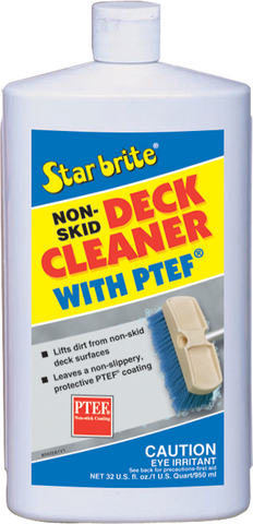 NON SKID DECK CLEANER 32OZ W/TEFLON