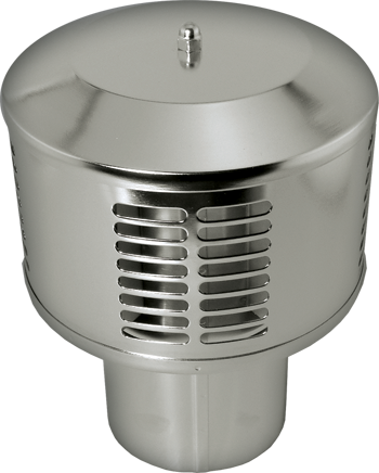 "FLUE CAP, DICKINSON 5"" S/S DP"