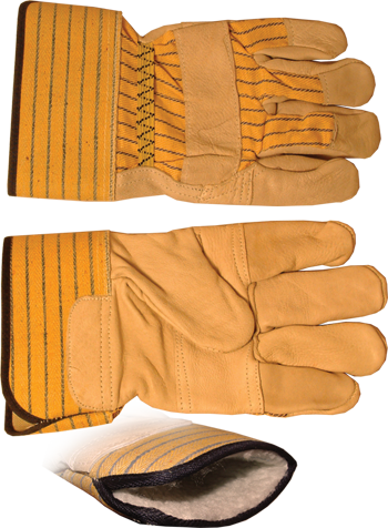 LEATHER INSULATED WORKGLOVE XL