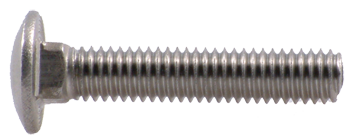 "CARRIAGE BOLT, 5/16"" X 1 1/4"" STAINLESS STEEL, EACH"
