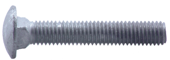 "CARRIAGE BOLT, 1/4"" X 3"" GALVANIZED, EACH"