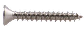 "BOX OF 100, SCREW #10 X 1/2"" SELF TAP, FLAT HEAD  S/S"