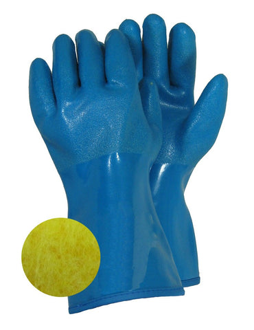 GLOVES, LINED PVC NITRILE