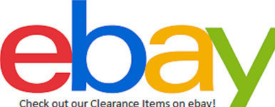Check out our clearance items on ebay!