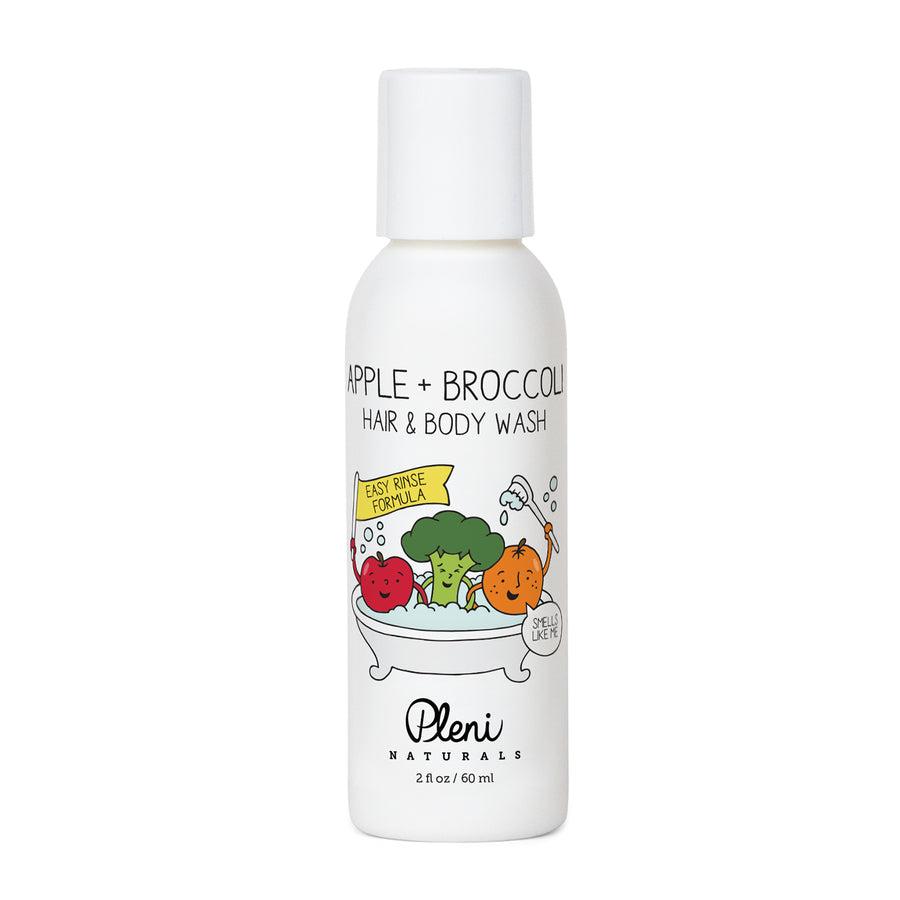 Apple + Broccoli Hair & Body Wash