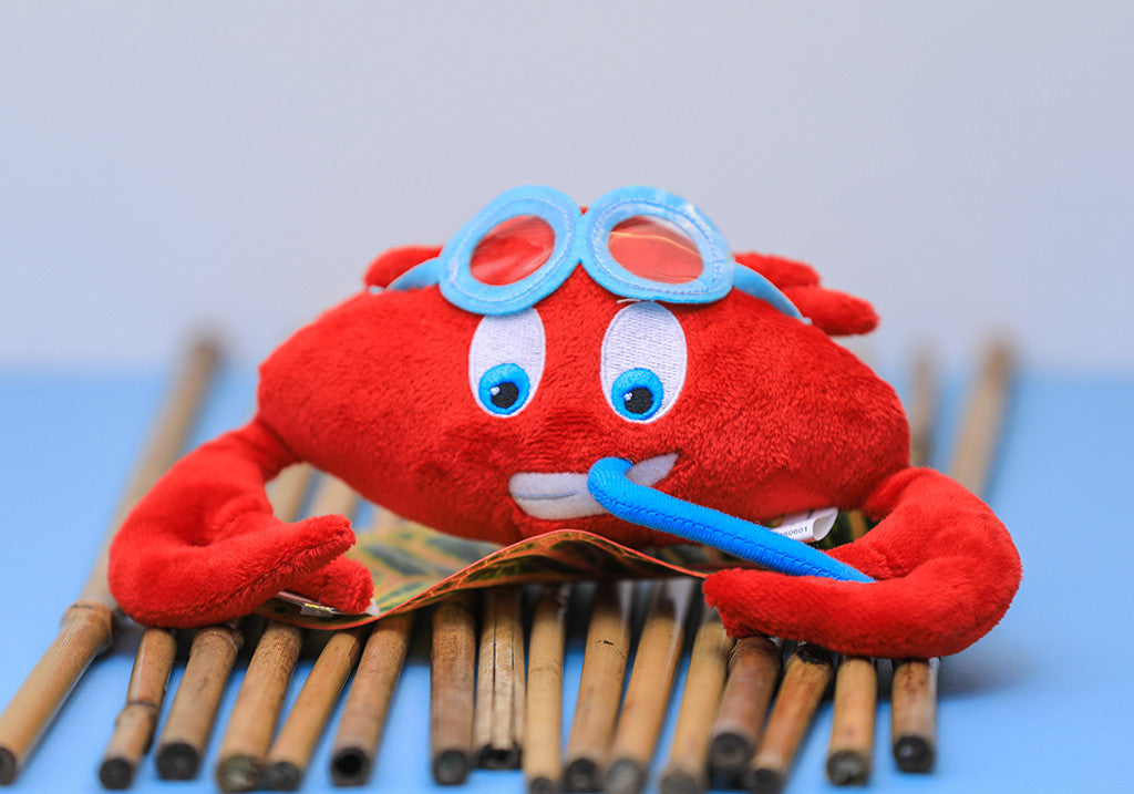 Caneel Bay Plush Crab