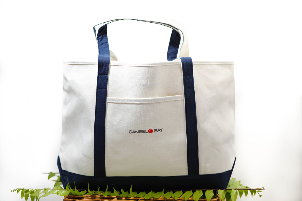Caneel Bay Canvas Tote