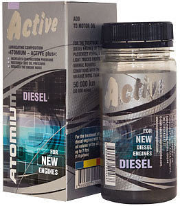 ATOMIUM Active (Diesel) for NEW diesel engines Suprotec