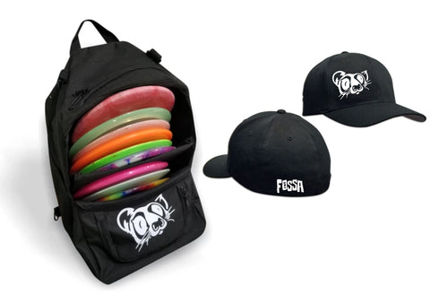 Mini Skinny + YOUTH FITTED HAT - fossadiscgolf