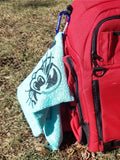 Towel - bag it up Gray - fossadiscgolf