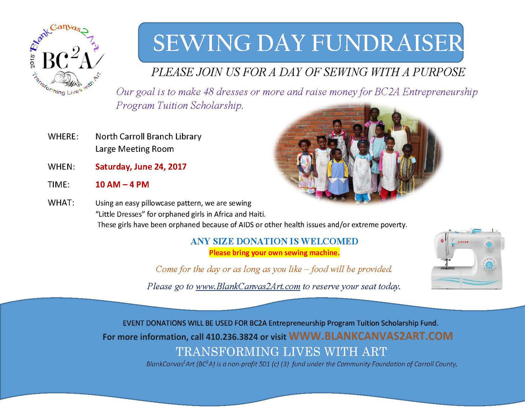 Sewing Day Fundraiser