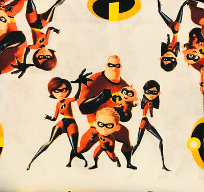 Incredibles Action Fitted Face Mask