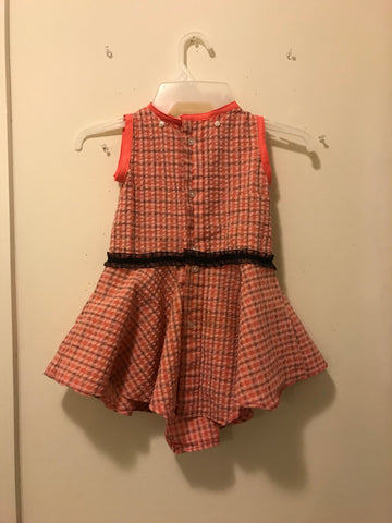 "BC2A ""Swing Me"" Crape Round Dress"
