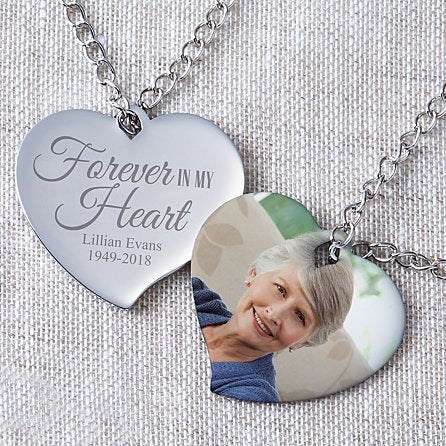 Photo Heart Photo Pendant