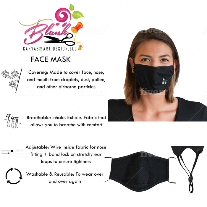 Custom Reusable Face Mask