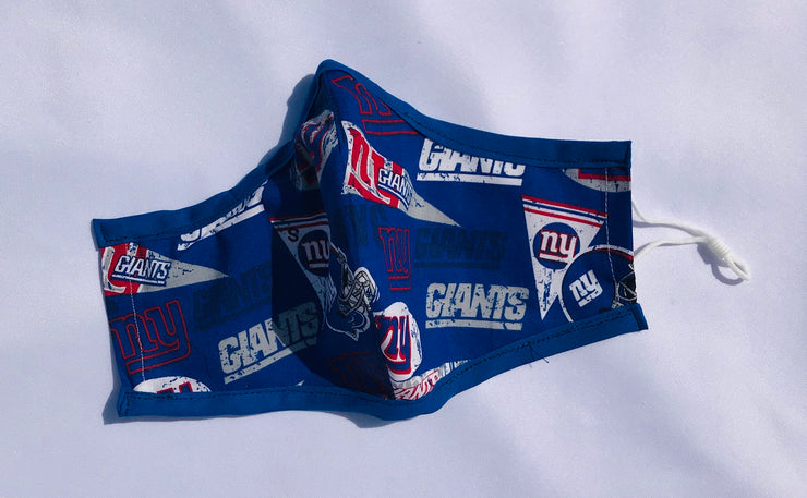NY Giants Fitted Face Mask