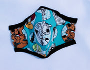 Scooby Doo Fitted Face Mask