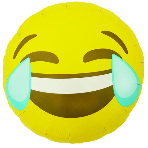 Emoji Crying Laughing Balloon