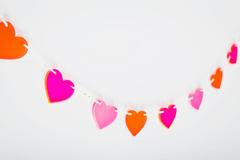 Heart on a String Garland