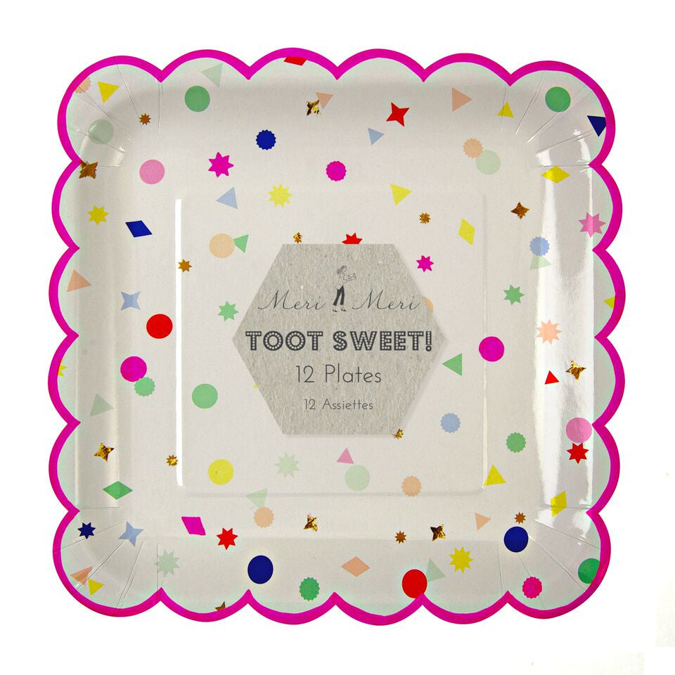 Toot Sweet Charms Scallop Large Plate