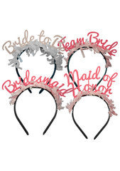 Party Up Top Headband Pack: Bridal Party