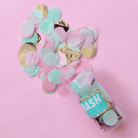 Memphis Pastels Party Confetti