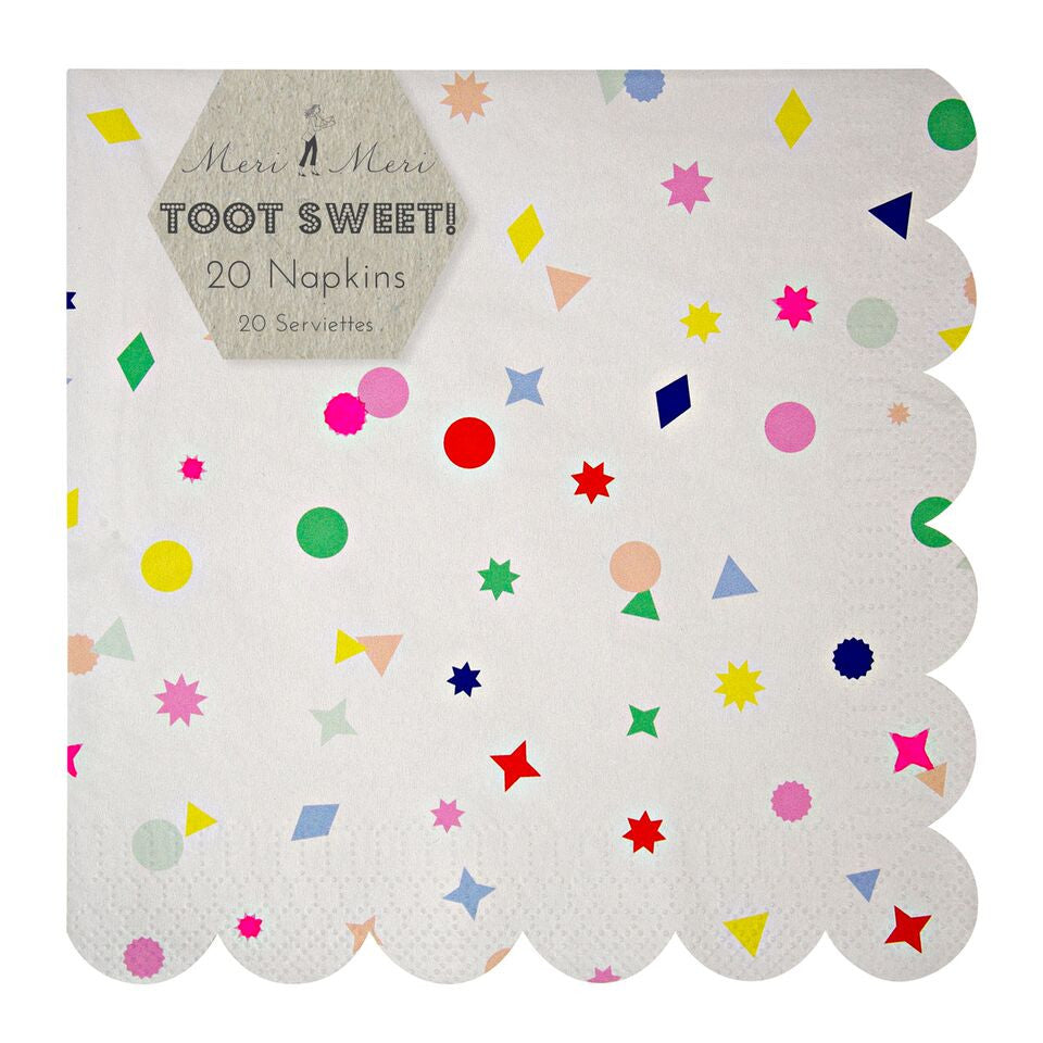 Toot Sweet Charms Large Napkin