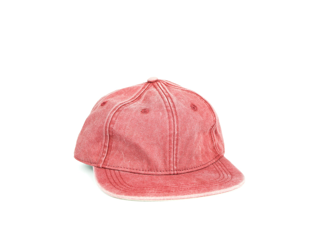 Folding Hat - Washed Red