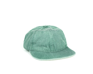 Folding Hat - Washed Green