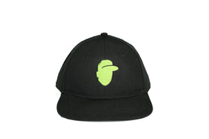 "Crown + Brim ""The Logo Series"" - Neon Green"