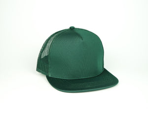 Five Panel Trucker - Green