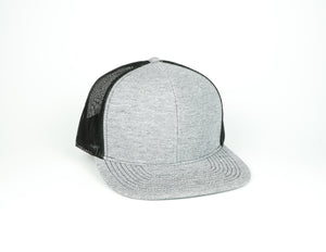 Sweater Knit Trucker - Grey/Black