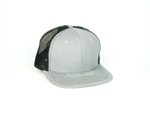 Linen Trucker - Grey/Black