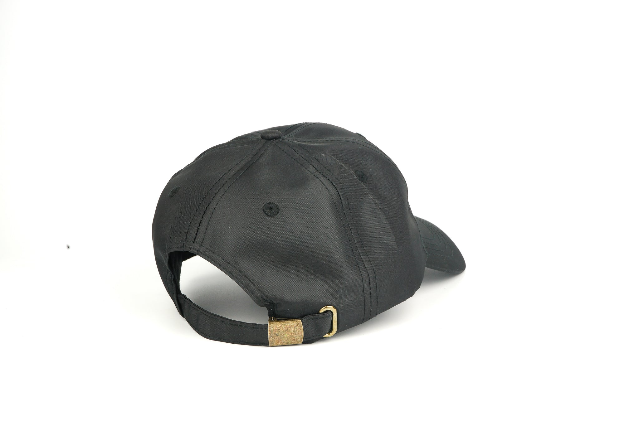 Nylon Dad Hat - Black