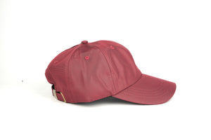 Nylon Dad Hat - Wine