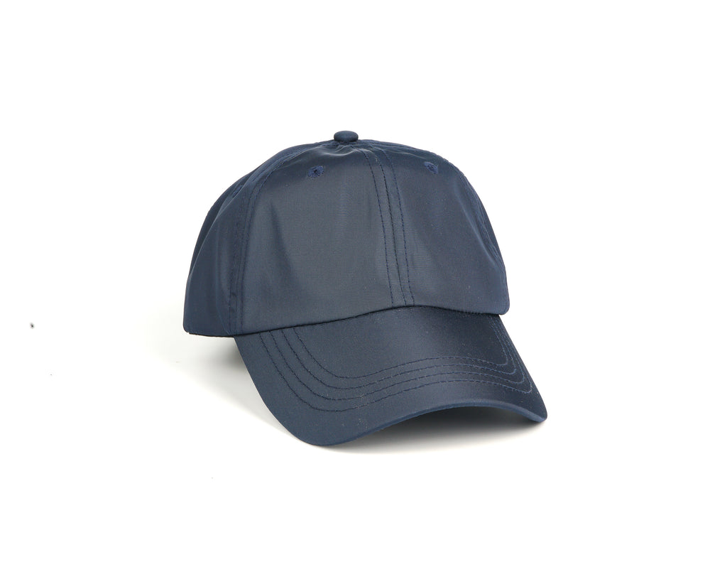 Nylon Dad Hat - Navy