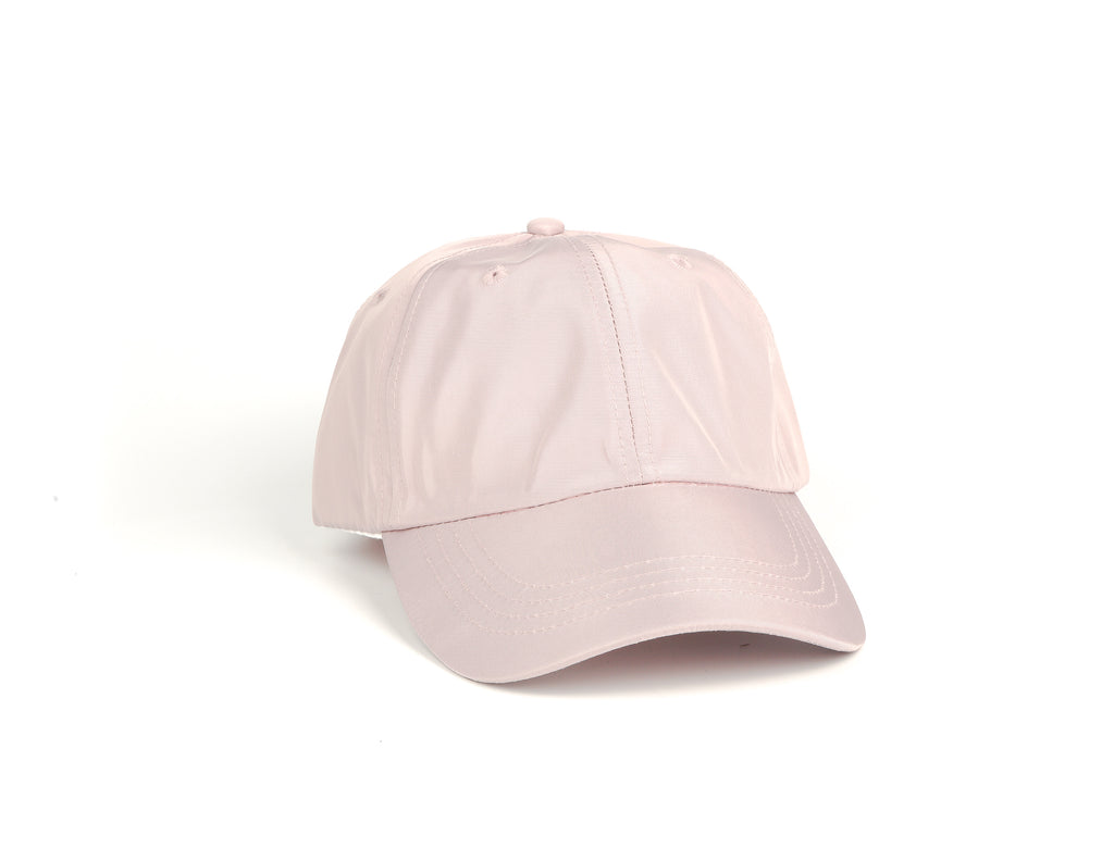 Nylon Dad Hat - Rose