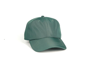 Nylon Dad Hat - Forest Green