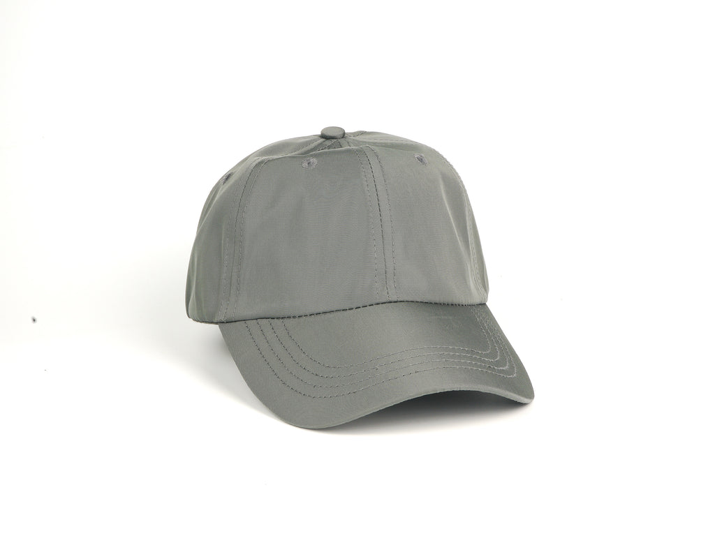 Nylon Dad Hat - Charcoal