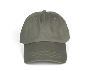 Pure Cotton Dad Hat - Charcoal