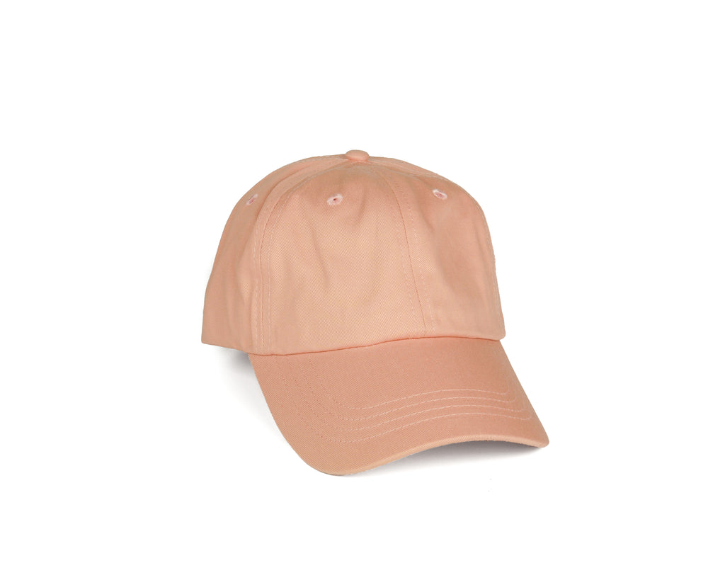 Pure Cotton Dad Hat - Salmon