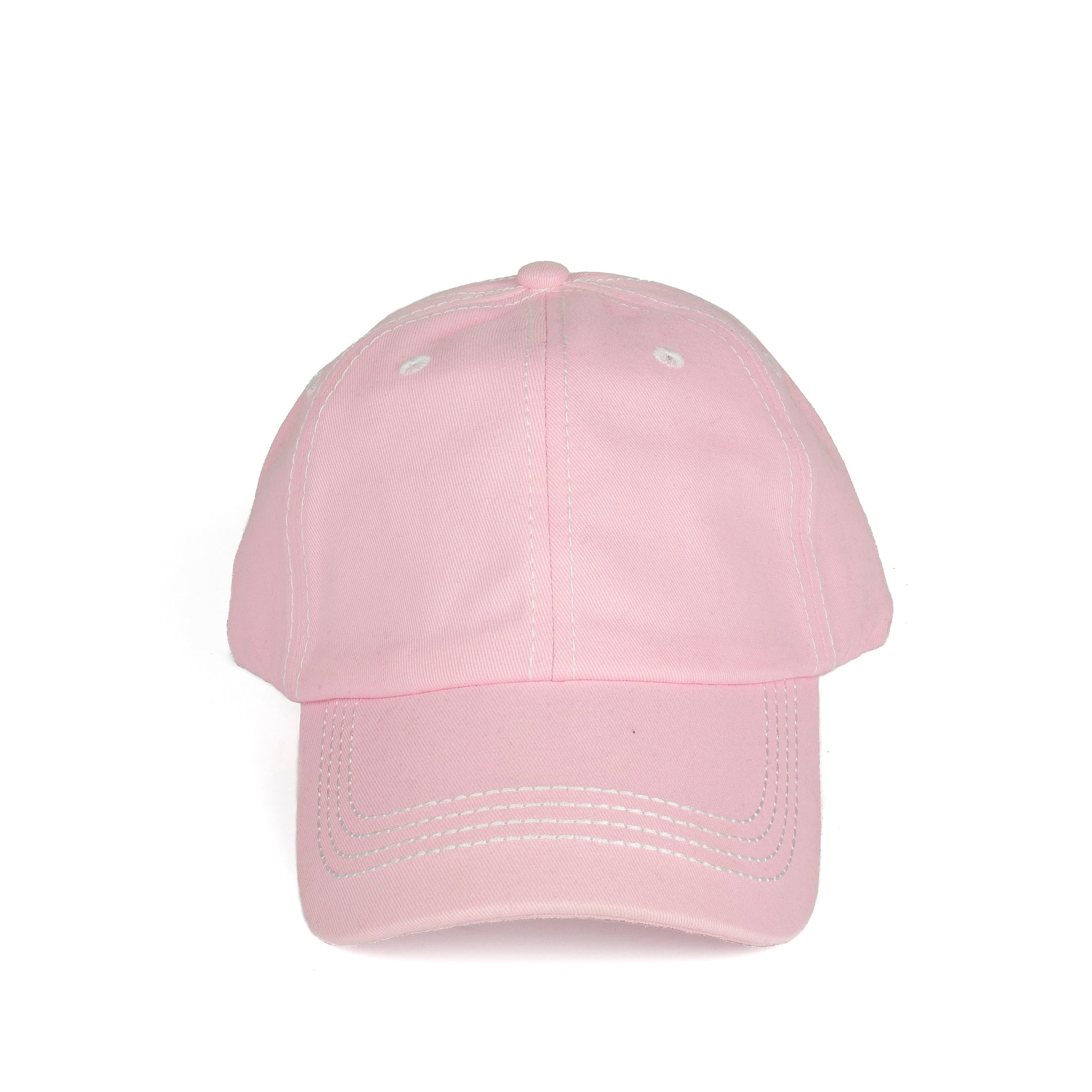 Stitch Dad Hat - Pink