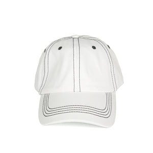 Stitch Dad Hat - White