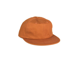 Cotton UFB (Unconstructed Flat Brim) - Blood Orange