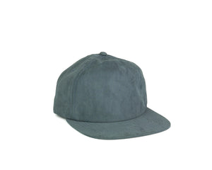 Peach Skin Half Struct Snap Back - Slate Blue