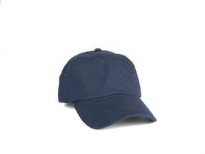 Pure Cotton Dad Hat - Navy Blue