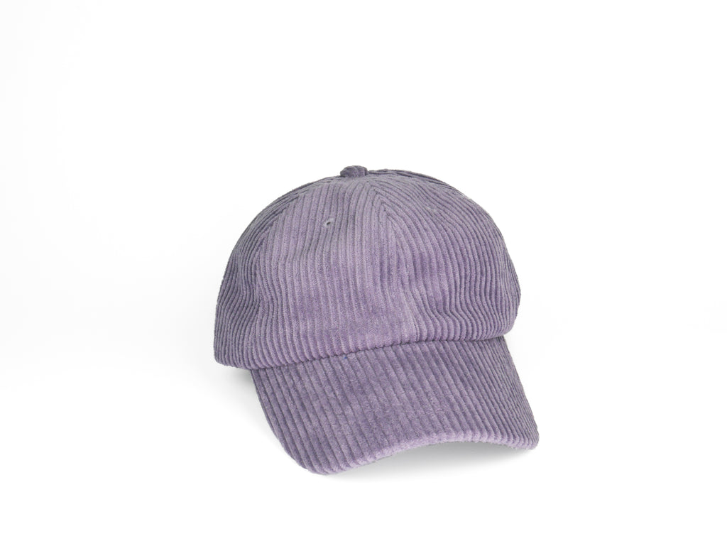 Thick Corduroy Dad Hat - Purple